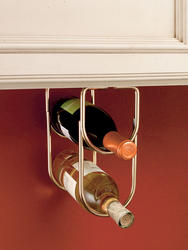 Rev-A-Shelf® Brass Double Wine Bottle Holder