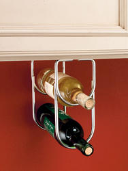 Rev-A-Shelf® Chrome Double Wine Bottle Holder