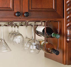 Rev-A-Shelf® Oil-Rubbed Bronze Double Wine Bottle Holder