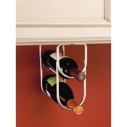 Rev-A-Shelf® Satin Nickel Double Wine Bottle Holder