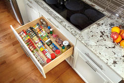 "Rev-A-Shelf® 22"" Wood Spice Drawer Insert"