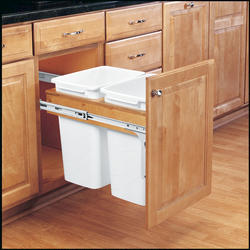 Rev-A-Shelf® Double Top-Mount Waste Containers - 35 qt.
