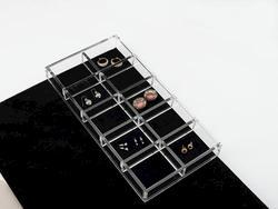Closet Acrylic Jewelry Organizer