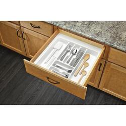 "Rev-A-Shelf® 21"" White Cutlery Drawer Insert"