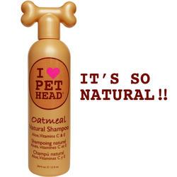Pet Head Oatmeal Natural Dog Shampoo - 12 oz
