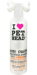 Pet Head White Party Brightening Dog Shampoo - 12 oz