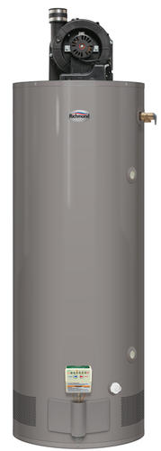 richmond 75 gallon natural gas 6 year tall power vent water heater. Black Bedroom Furniture Sets. Home Design Ideas
