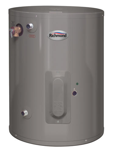 Richmond 30 gallon electric 6 year point of use water for Used water heaters
