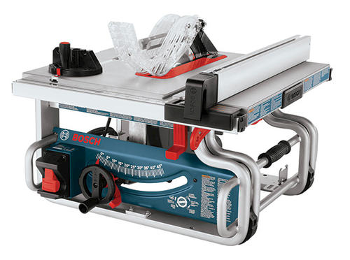 Bosch 10 Portable Worksite Table Saw At Menards