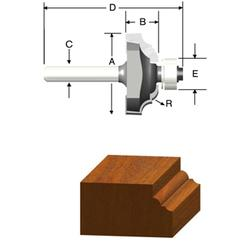 """1/8"""" Classical Router Bit"""
