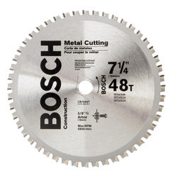 "Bosch® 7-1/4"" 48 Tooth Ferrous Metal Saw Blade"