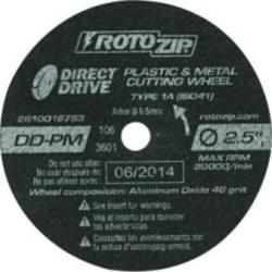 RotoZip® DD-PM5 Aluminum Oxide Cutting Wheels (5-Count)