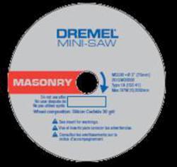 Dremel® Masonry Cut-Off Wheel (Saw Max Accessory)