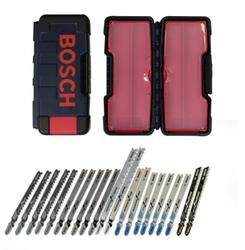 21 piece T-Shank Jig Saw Blade Set for multiple materials