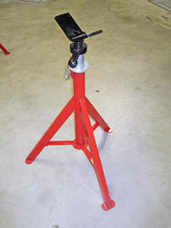 ROTHENBERGER SuperJack V-Head Straight Pipe Stand