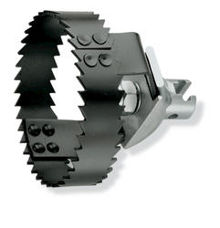 "ROTHENBERGER Two-Way Root Cutter (1-1/4"" Coupling, 2-1/2"" Diameter)"