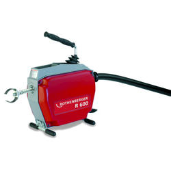 ROTHENBERGER R600 Drain Cleaner with Accessories