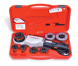 """ROTHENBERGER 1/2"""" - 2"""" NPT S-TRONIC 2000 Set for Plastic Coated Pipe"""