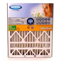 "20"" x 25"" x 5"" Pleated Filter for Trion Air Bear MERV 13"