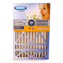 "16"" x 25"" x 5"" Pleated Filter for Carrier/Bryant MERV 13"