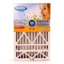 "16"" x 25"" x 4"" Pleated Filter for Honeywell MERV 13"