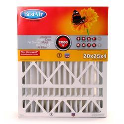 "20"" x 25"" x 4"" Pleated Filter for Honeywell MERV 11"