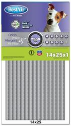 """Carbon Infused Odor Reduction Filter 14"""" x 25"""" x 1"""""""