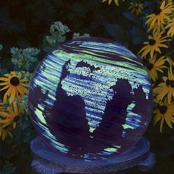 "10"" Illuminarie Earth Globe"