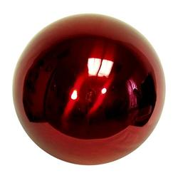 "10"" Red Steel Gazing Globe"