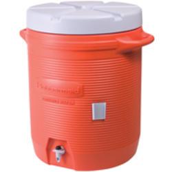 10 Gallon Insulated Beverage Container (Orange)
