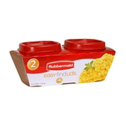 2PK Mini Square Food Container