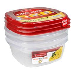3PK Piece Medium Food Container