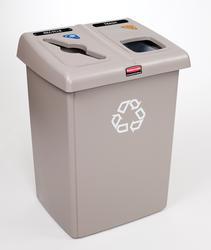 Glutton Beige 2-Stream Recycling Station