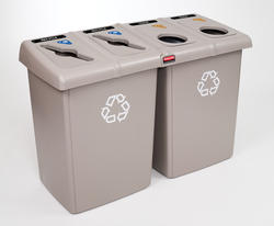 Glutton Beige 4-Stream Recycling Station