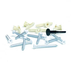 Configurations® 15 Piece Hardware Pack-White