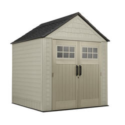 Rubbermaid  X-Large 7' x 7' Gable Storage Building