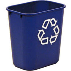 Deskside Recycling Container, Small with Universal Recycle Symbol