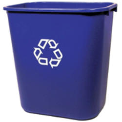 Deskside Recycling Container, Medium w/Universal Recycle Symbol