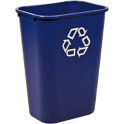 Deskside Recycling Container, Large with Universal Recycle Symbol