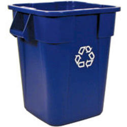 BRUTE® Square Recycling Container without Lid
