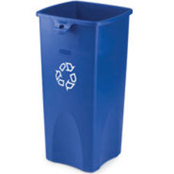 Untouchable® Square Recycling Container