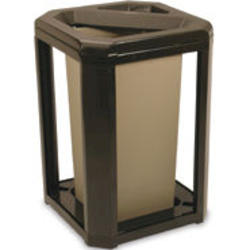 Landmark Series® Classic Container, Ash/Trash Frame with 3569 Rigid Liner