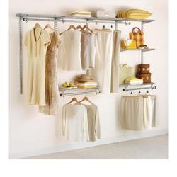 Configurations® 4-8' Classic Closet Kit-Titanium