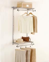 Configurations® 4' Hanging Space Add-On-Titanium