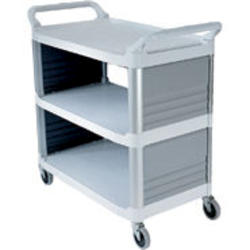 Utility Cart with Enclosed End Panels on 2 Sides