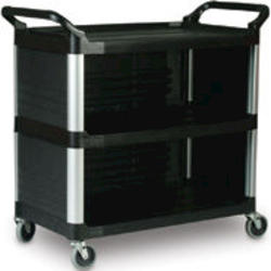 Utility Cart with Enclosed End Panels on 3 Sides