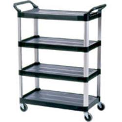4-Shelf Cart, Open Sided