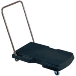 "Triple® Trolley, Utility Duty with Straight Handle and 3"" Casters"