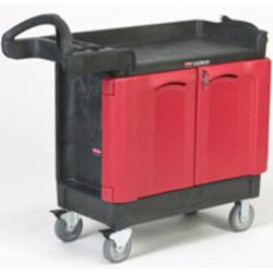 TradeMaster® Cart with 2 Door Cabinet (Small)