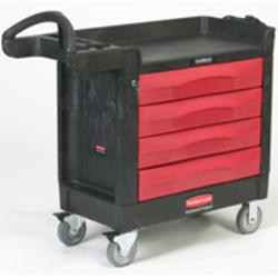 TradeMaster® Cart with 4 Drawer Cart